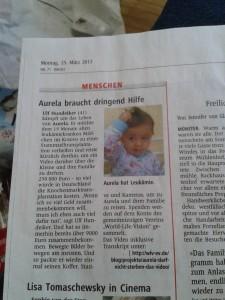 Artikel in den Westfälischen Nachrichten (WN, Münster, 24. März 2013)