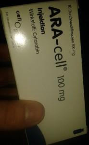 Schachtel ARA-Cell (Cytarabin)