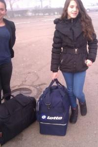 Die WIntersachen sind in Prishtinë angekommen
